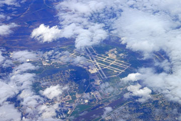 aerial view of eppley airfield in omaha